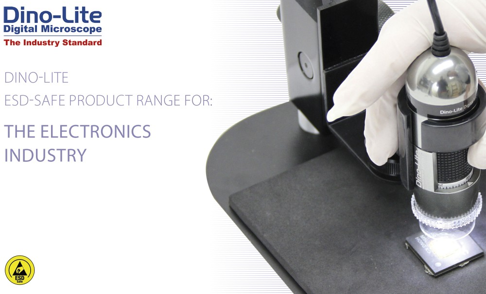 Dino-lite brochure for Electronics (ESD)